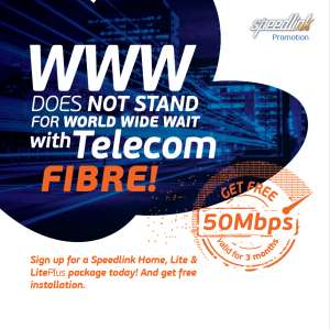 Speedlink Fibre promotion